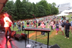 Eric Hutchinson performs at Do Good Fest 2014